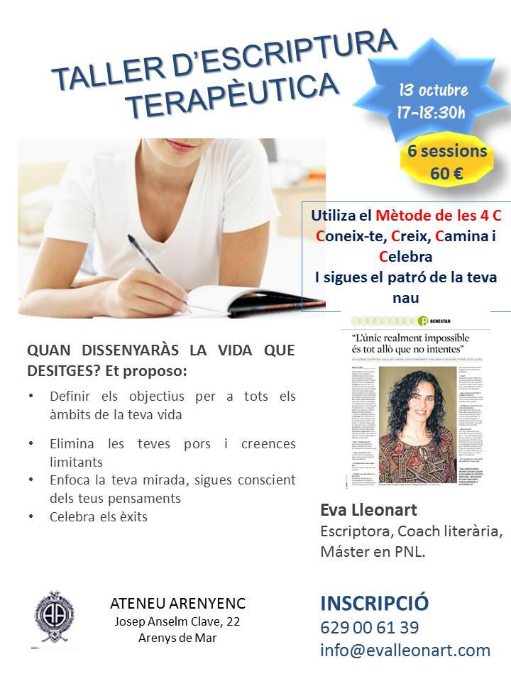 Escriptura Terapèutica Eva Lleonart
