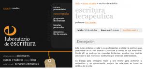 Escritura Terapéutica online Eva Lleonart