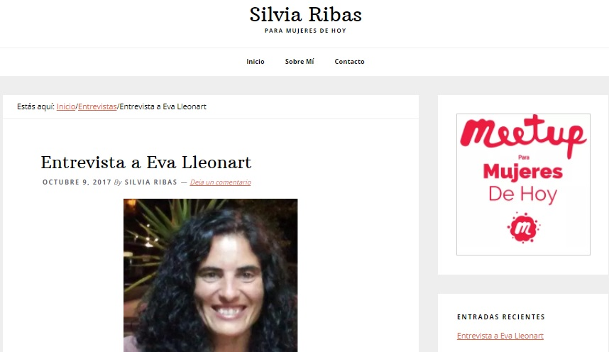 Entrevista Meetup Mujeres de hoy