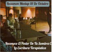 Meetup Mujeres de Hoy Escritura Terapéutica Eva Lleonart