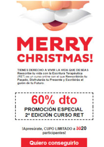 Escritura Terapéutica regalo Navidad Eva Lleonart